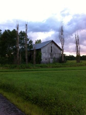 Tully, Nowy Jork: Old barn