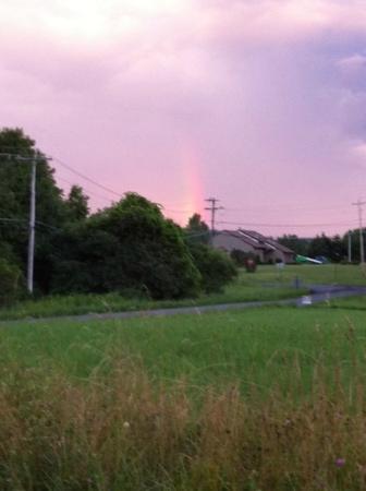 Tully, Nowy Jork: Short rainbow