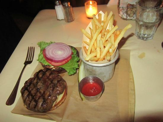 Match 65 Brasserie: Angus Burger with Fries