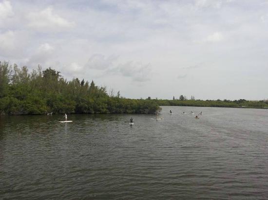Round Island Beach Park Paddle Boarding