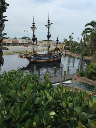 Mutiny Bay Miniature Golf Pirate Ship