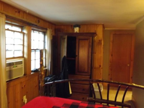 Whitney's Inn: view from bed