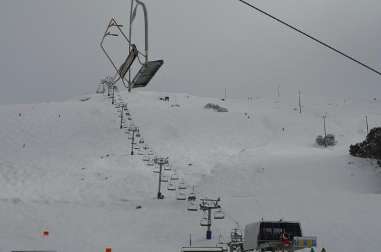 Interesting Summit Chair Lift Falls Creek Ski Lifts The Access Intended Design Ideas