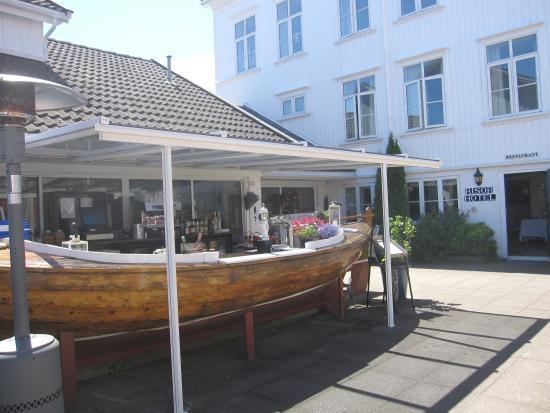 Risor Hotel: Bardisken