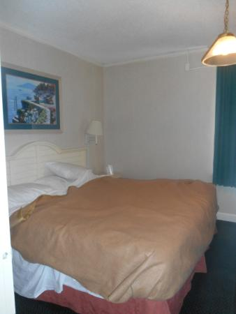 America's Best Inn & Suites Wilmington: The nice soft comfy bed (should of took pic before I slept)
