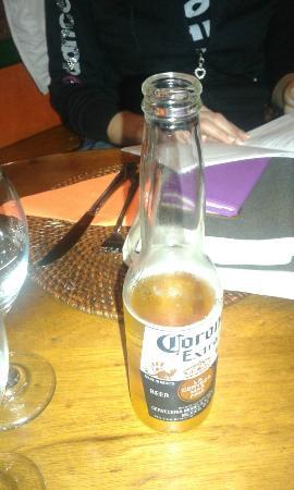 Zapata's Mexican Restaurant: corona