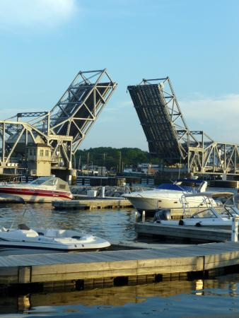 Stone Harbor Restaurant: The View From The Patio Dining Area