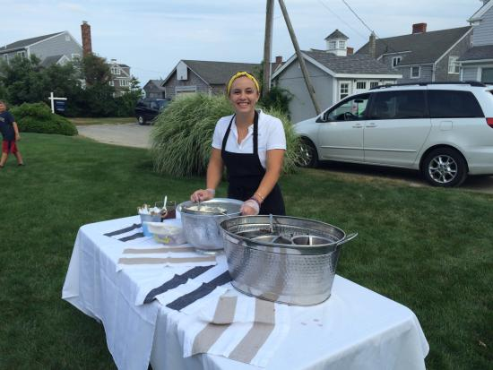 Smitty's Homemade Ice Cream: Smitty's Tall Oreo Sundae, Catering, Employee Softball & Smitty's backyard