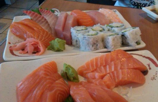 Matsuyama Japanese Restaurant : great slabs of sashimi!