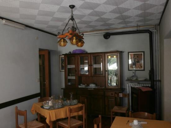 Ala di Stura, Włochy: La sala per la colazione