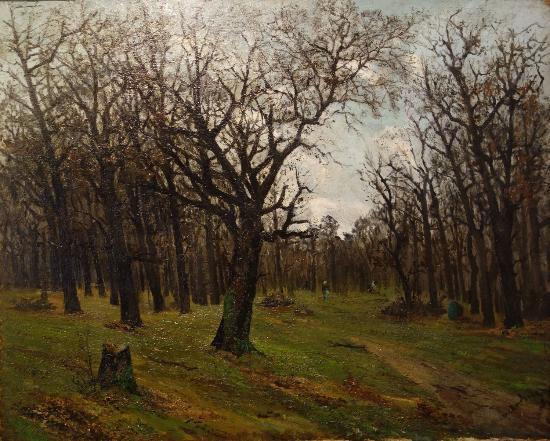 K. H. Zambaccian Museum: Ion Andreescu: Bare Forest