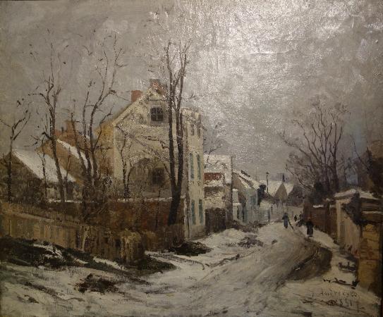 K. H. Zambaccian Museum: Ion Andreescu: Winter at Barbizon