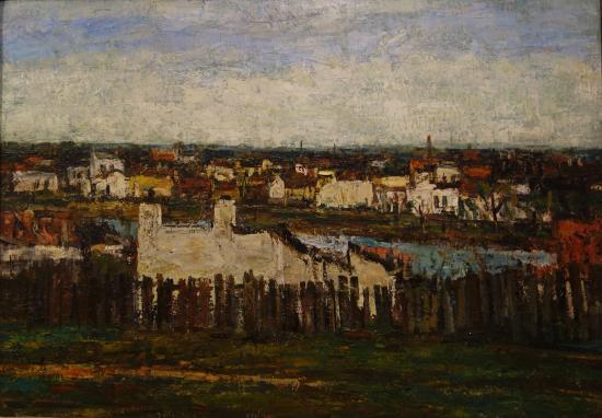 K. H. Zambaccian Museum: Alexandru Padina: Townscape