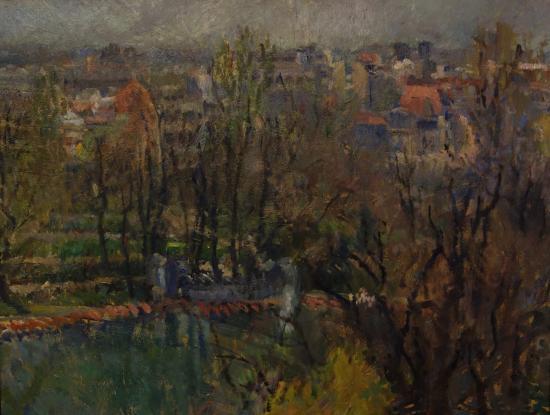 K. H. Zambaccian Museum: Jean Alexandru Steriadi: View of the Cismigiu Gardens