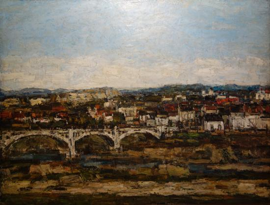 K. H. Zambaccian Museum: Alexandru Padina: The Bridge at Curtea Arges