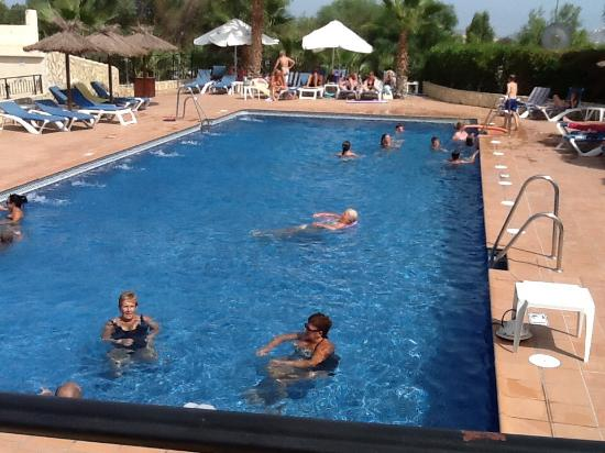 Los Gallardos, Spanien: Pool