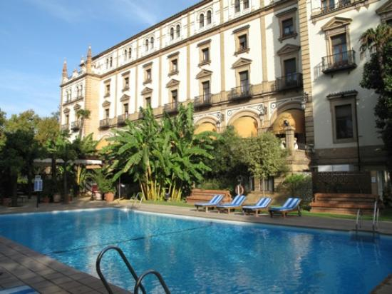 Pool Picture Of Hotel Alfonso Xiii A Luxury Collection Hotel Seville Seville Tripadvisor