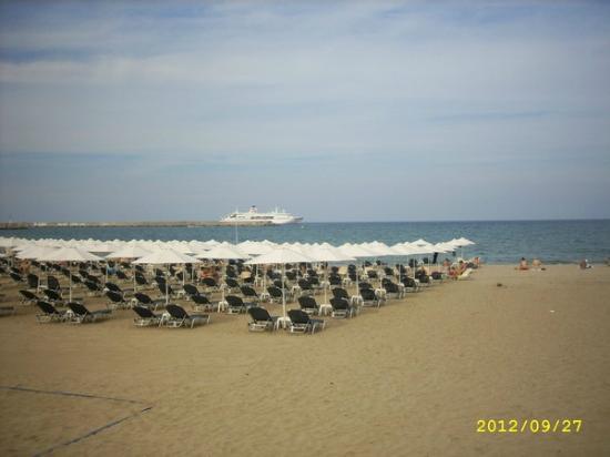 Aquila Porto Rethymno: пляж