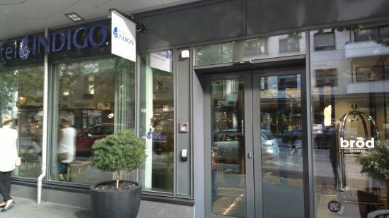 Front Door Picture Of Hotel Indigo Helsinki Boulevard Helsinki