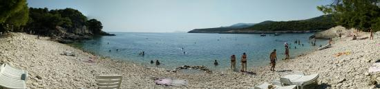 Island of Vis, Kroatia: Someone build a nice baby pool!