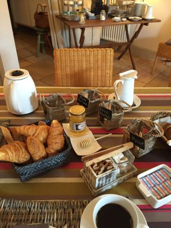 Domaine de la Corgette : Petit déjeuner