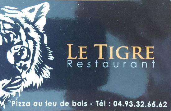 Le Tigre : la carte