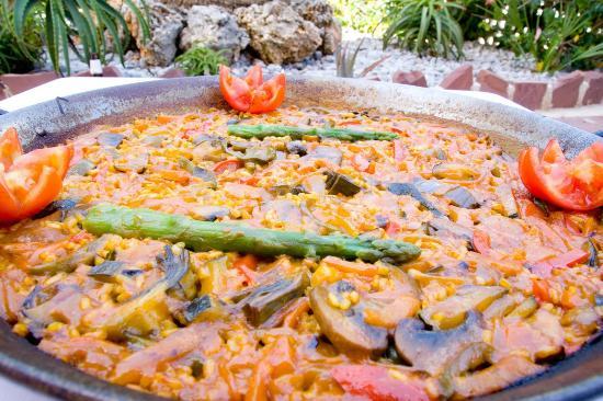 Paella Vegetariana Y Vegana Fotografia De Chef Amadeo Playa De