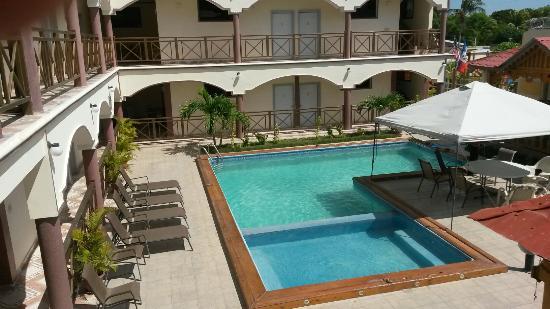 Gonaives, Haiti: Heberson Paradis Hotel