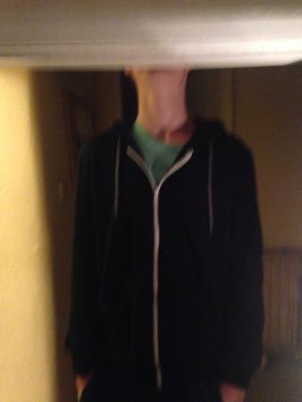 Suffolk, UK: my son was a bit too tall for my bedroom door hahahahaha