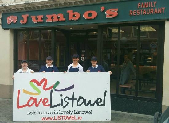 Jumbos Family Restaurant: Jumbo's Loves Listowel