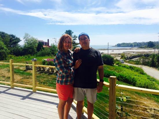 Craignair Inn at Clark Island : View From the Deck