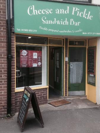 Cheese And Pickle Sandwich Bar