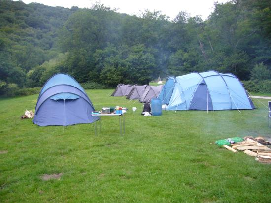Whitchurch, UK: campsite