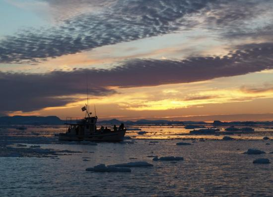how to get to ilulissat icefjord