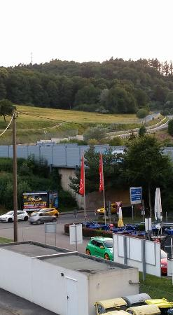 Hotel an der Nordschleife: view from balcony