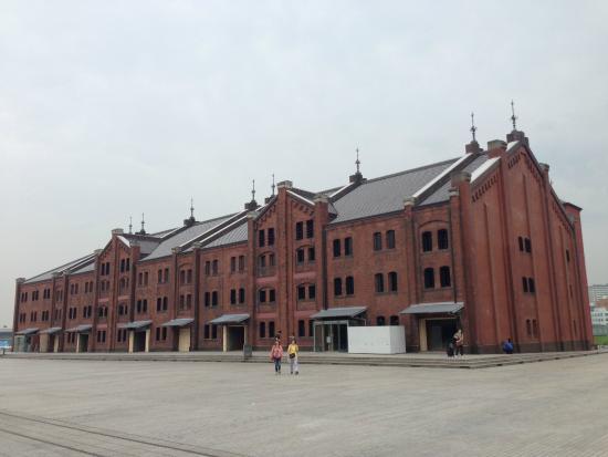 歐風氣息濃厚的紅倉庫