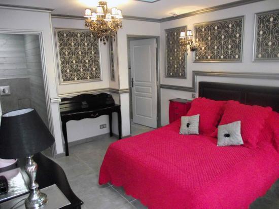 Les Belles Epoques - 5 Chambres d'Hôtes : Chambres Baroque - 2 places lit double 160X200