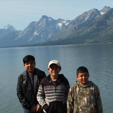 Teton National Forest: Another View with the Boys