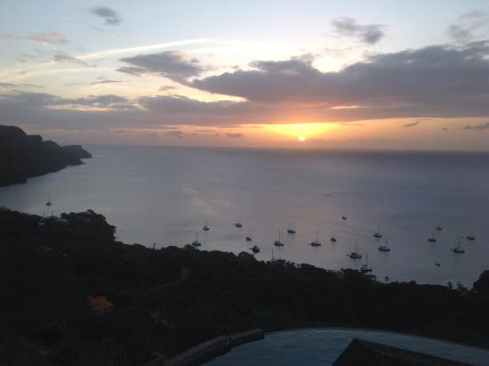 Richmond, Bequia: Penthouse view