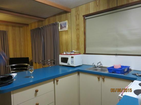 Miena, Australia: cabin kitchen