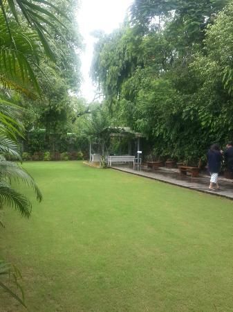 Hotel Diplomat: Sitout & lawn