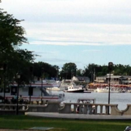 Not Your Average Joe's : Harbor View from outdoor seating