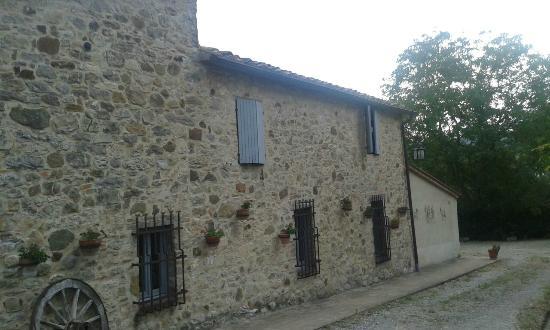 esterno - Foto di Domus Etrusca Agriturismo, San Casciano dei Bagni ...
