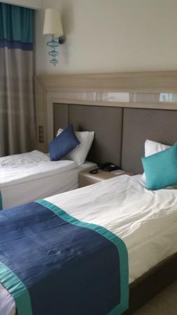 Club Hotel Falcon : Doppelzimmer mit Twinbetten