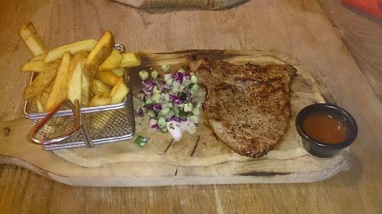 Steakout: It looks nice and teast even better