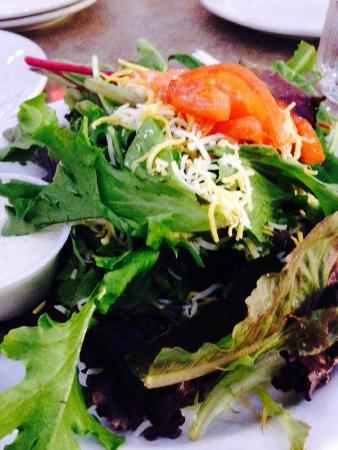 Flavors of Louisiana: My side salad