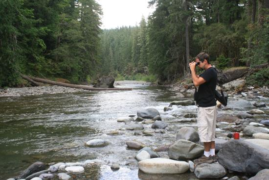 Randle, WA: River at Las Wis Wis