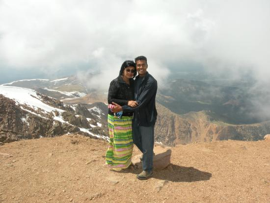 View from the top - Picture of Pikes Peak, Colorado Springs ...