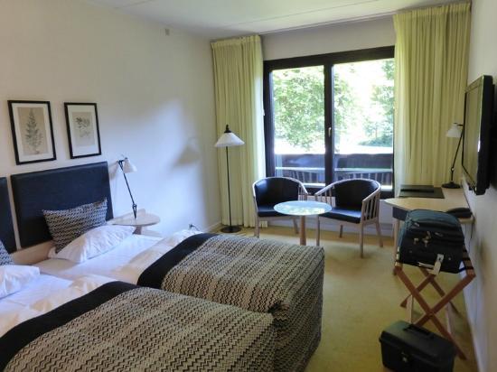 Munkebjerg Hotel: notre chambre