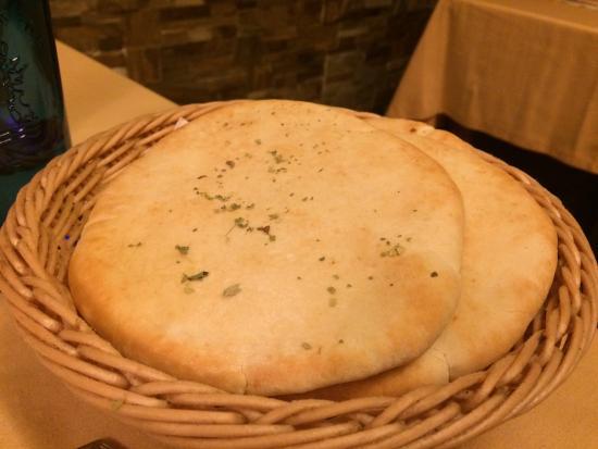 Mythos: Pan de pita.